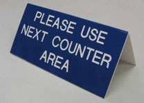 Counter sign